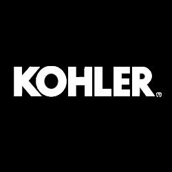 Kohler faucet, toilet, plumbing logo